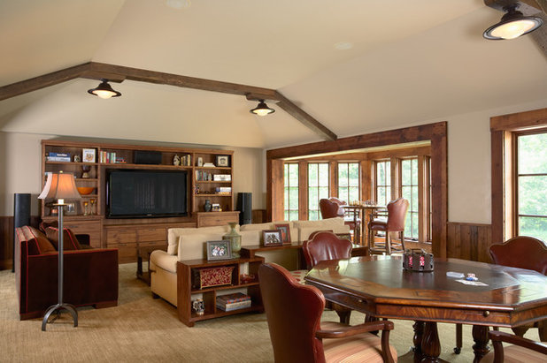 Play up rooms with game tables for Small game table in living room