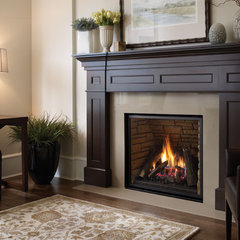 traditional living room by Regency Fireplace Products