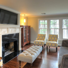 Traditional Living Room by Taylor Bryan Company