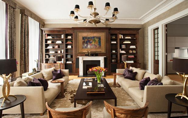 Classique Salon Traditional Living Room