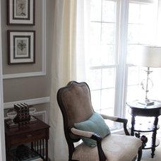 Traditional Living Room by Rhonda Peterson and Associates, LLC