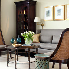 Traditional Living Room by Sean Michael Design