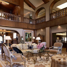 Traditional Living Room by Statement of Style