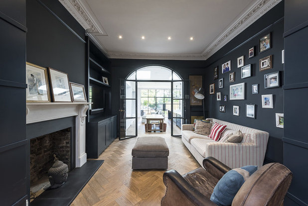 Traditional Living Room by Grand Design London