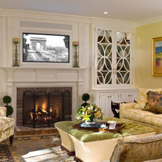 Traditional Living Room by Well-Designed Interiors