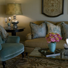Traditional Living Room by Zuniga Interiors