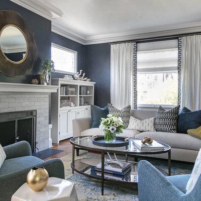 Living room - living room idea in Sacramento