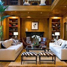 Traditional Living Room by Meridith Baer Home