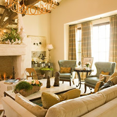 traditional living room by Michael Fullen Design Group