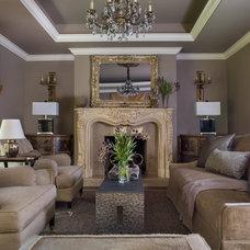 Traditional Living Room by Seana Stockton Interiors