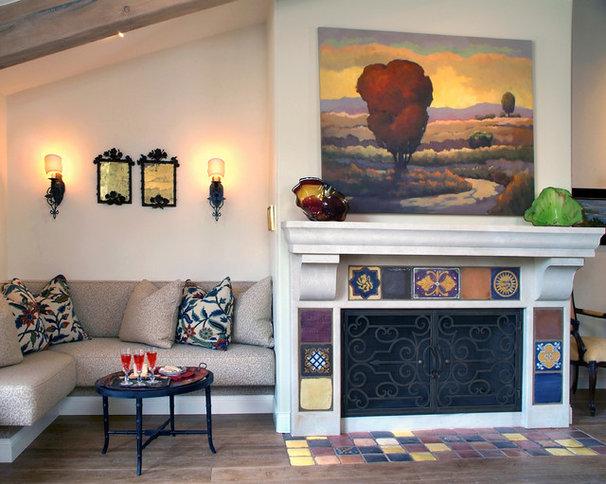 Traditional Living Room by Hamilton-Gray Design, Inc.