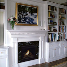 Traditional Indoor Fireplaces by Hearth Cabinet
