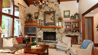 Traditional Rustic Living Room
