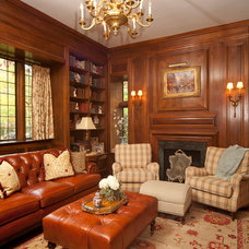 Traditional Living Room by Reflections Interior Design