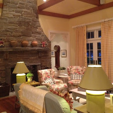 Traditional Living Room by Kenneth Davis Lux International