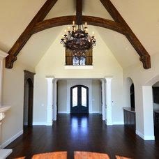Traditional Living Room by Custom Homes of Texas