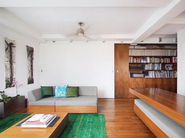 Moderno Salón by Architecture Workshop PC