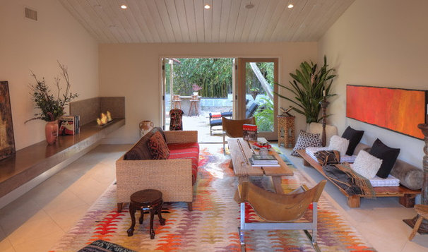 Contemporary Living Room by Pritzkat & Johnson Architects