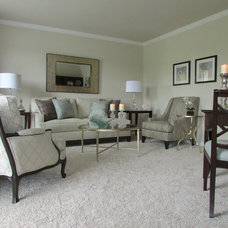 Transitional Living Room by Diane Stein for Ethan Allen Chadds Ford, PA.