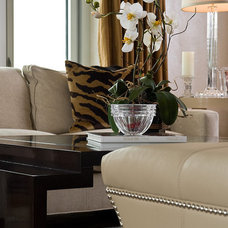 Modern Living Room by Interiors by Mary Susan