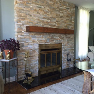 Transitional Fireplace Upgrade in Ottawa, ON