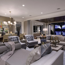 Contemporary Living Room by Marc-Michaels Interior Design