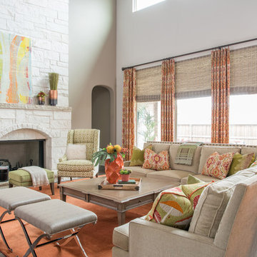 Transitional Great Room