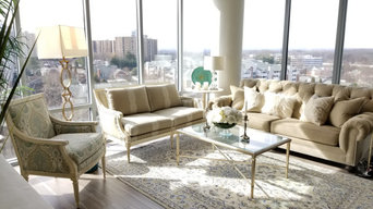 Transitional high rise apartment