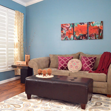 Transitional Home Decor with Eclectic Style