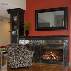 Traditional Living Room by Shane D. Inman