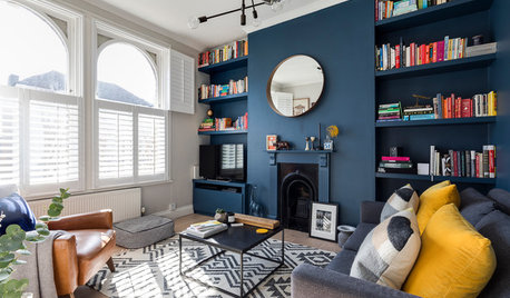 9 Ways to Use Navy Blue in a Living Room