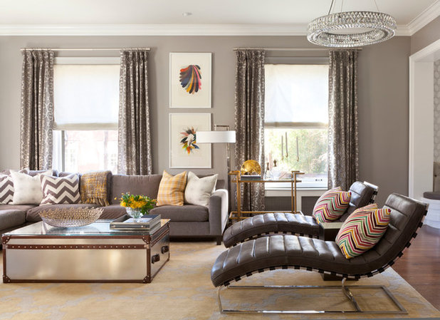 how to rock a mixed metal decor palette