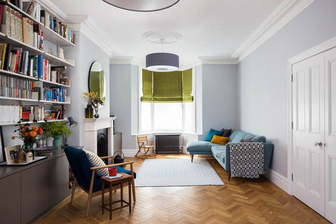 Transitional Living Room by Photographer