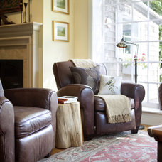 Traditional Living Room Transitional Living Room