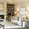 Good Idea: Put Sconces Over the Sofa