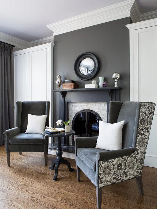 Best Slate Grey Living Room Design Ideas & Remodel ...