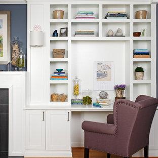 Transitional Living Room