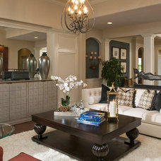 Living Room by Masterpiece Design Group