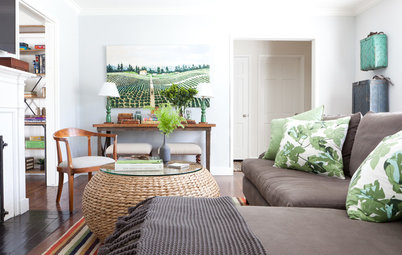Houzz Tour: Classic American Bungalow Style for a Bachelor