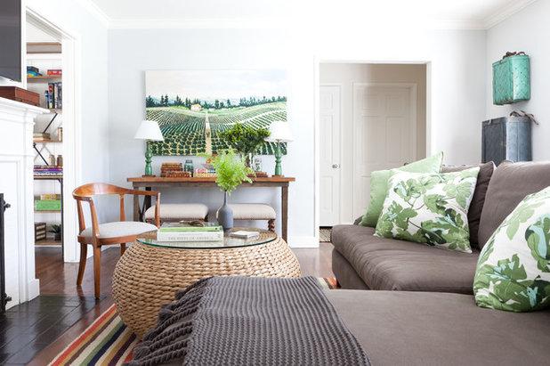 Transitional Living Room By Meredith Ellis Design