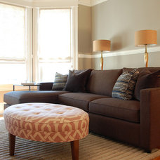 Transitional Living Room by Niche Interiors