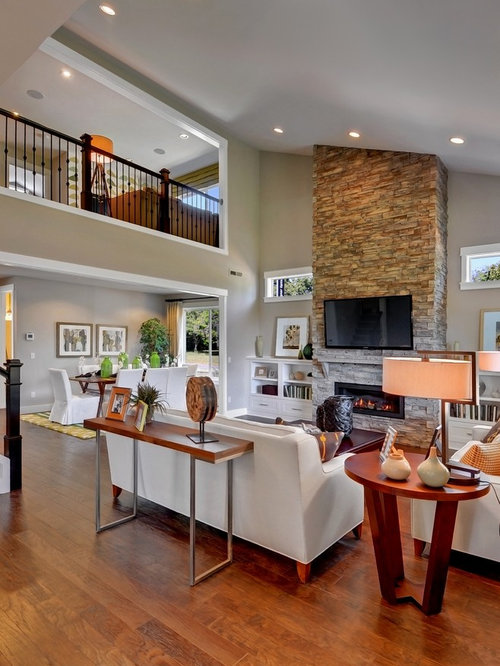 Overlooking Living Room Home Design Ideas Pictures