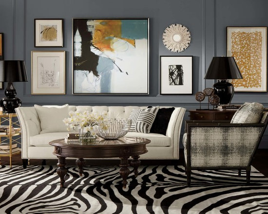 SaveEmail  Ethan Allen  Eclectic Ethan Allen Styles for Living Room  Transitional Living Room Design Ideas  Remodels   Photos   Houzz. Transitional Design Living Room. Home Design Ideas