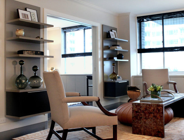 Transitional Living Room by Sean Michael Design