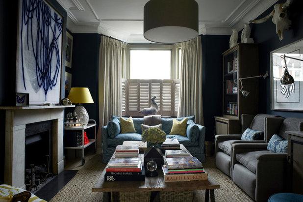Victorian Chic House With A Modern Twist: Houzz Tour: A Victorian Terraced House With A Modern Twist