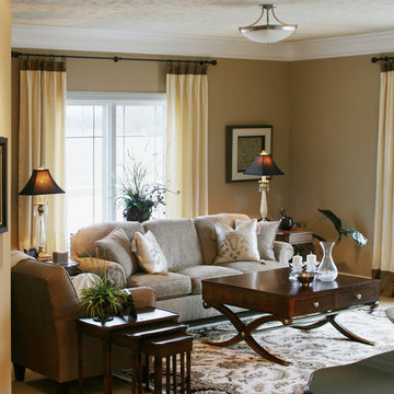 Transitional living space