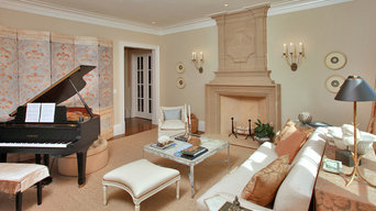 Transitional Luxury Living Room