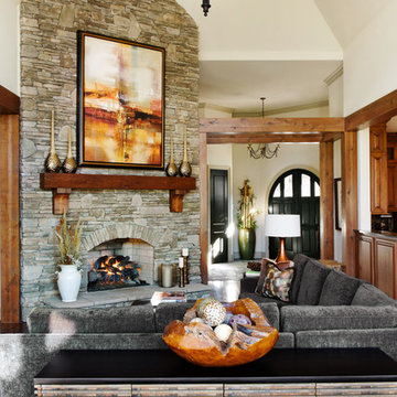 Transitional Mountain Retreat, Full Home Design