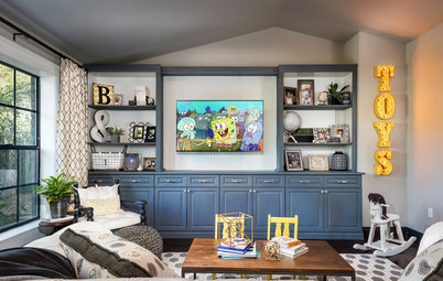 Room of the Day: A Bright, Colorful Playroom for Kids and Adults