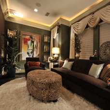 Transitional Living Room by The Design Firm